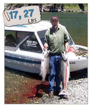 Rogue river fishing oregon fishing guides for Guided fishing trips in oregon