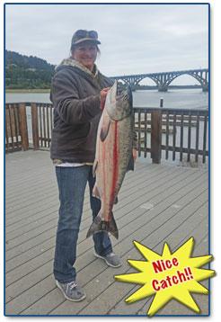 Oregon Salmon Cowley